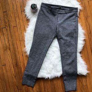 Banana Republic Sloan Fit Cropped Pants SZ 4 EUC!